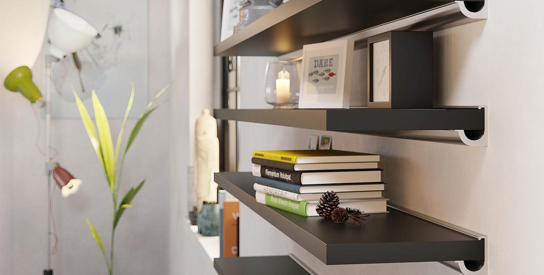 sub shelf brackets