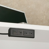 Under Desk & Edge-Mount Power Outlets