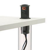 PCS Integration into Table Legs
