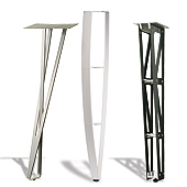 Desk & Counter Height Table Legs - Furniture Legs & Casters - Mockett