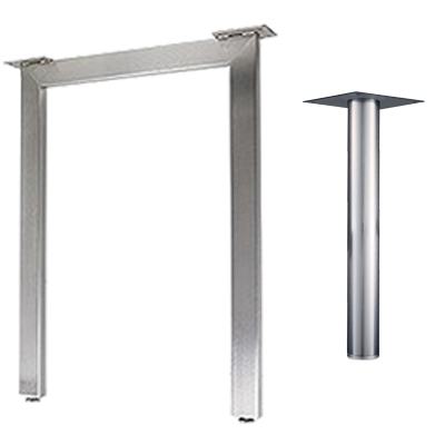 Round, Square & Rectangular Table Legs