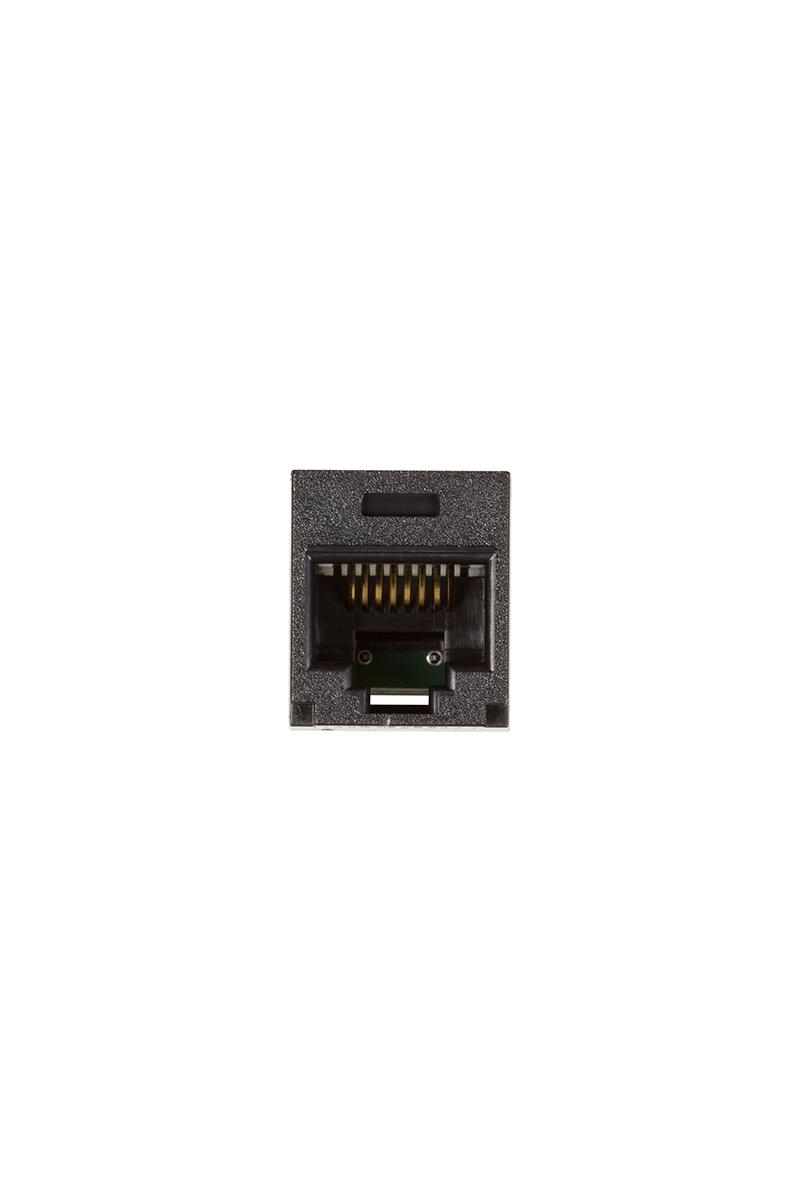 Single Panduit Minicom Cat5e Rj45 Black Mockett Jack Wiring Diagram