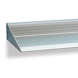 "118-1/8"" Extruded Aluminum Shelf - LIMITED TO STOCK!"