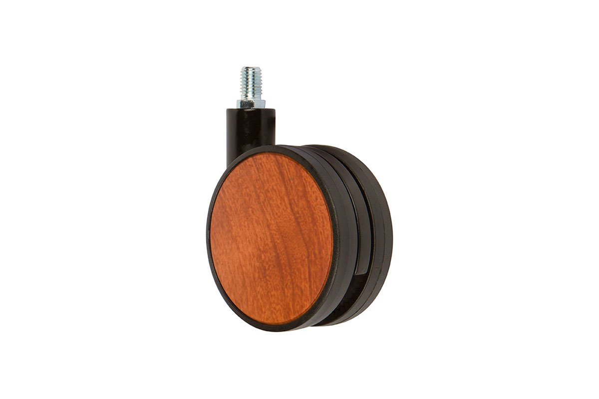 CA31SB-86 (Cherry) Mockett Caster Wheels Furniture Casters