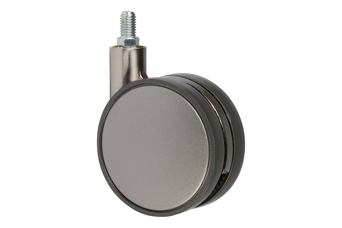 CA31SN-17S (Satin Nickel) Mockett Caster Wheels Furniture Casters