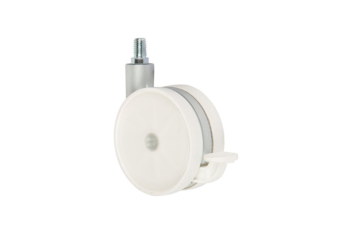 CA32SA-95T (Translucent White) Mockett Caster Wheels Furniture Casters