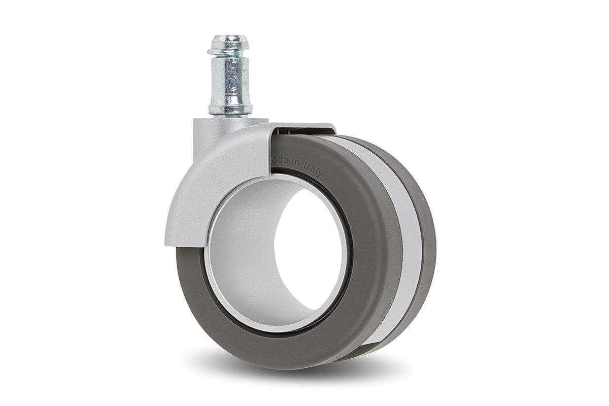 CA55CA-92 (Grey) Mockett Caster Wheels Furniture Casters