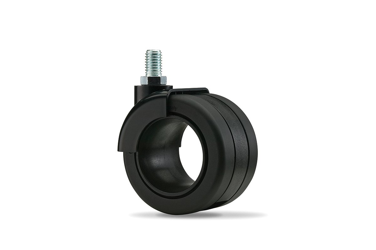 CA55SB-90 (Matte Black) Mockett Caster Wheels Furniture Casters