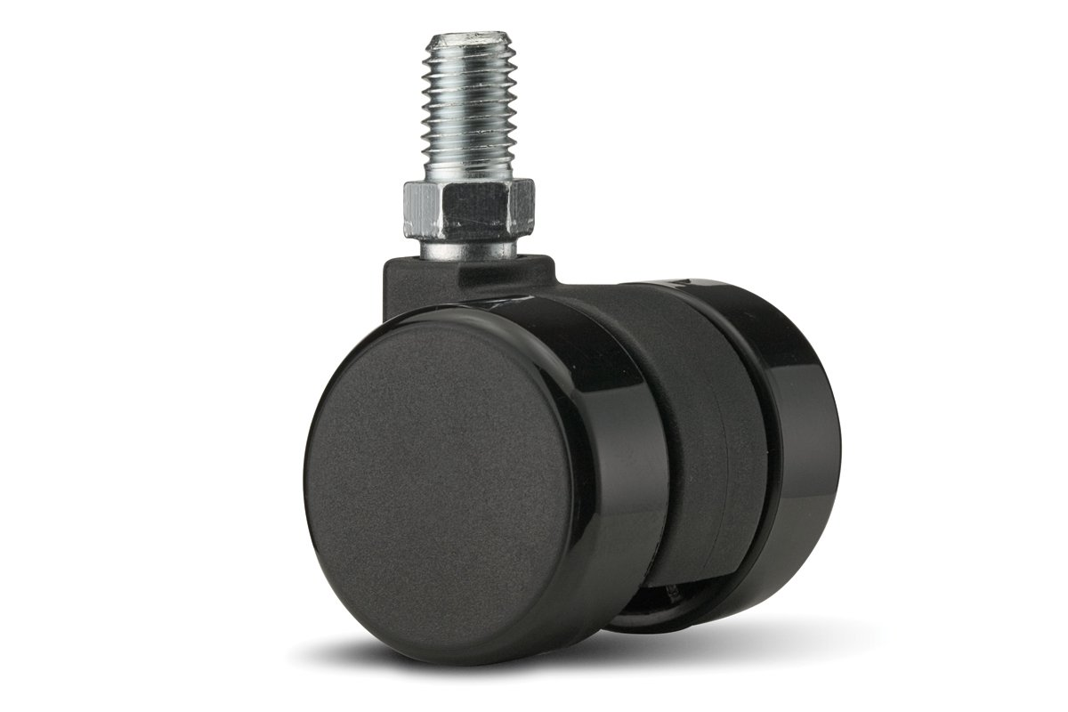 CA59SB-90 (Black) Mockett Caster Wheels Furniture Casters