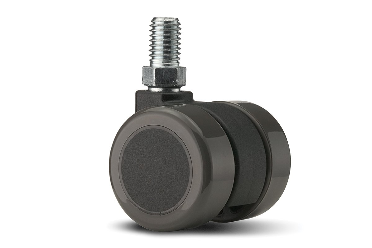 CA61SB-92 (Grey) Mockett Caster Wheels Furniture Casters