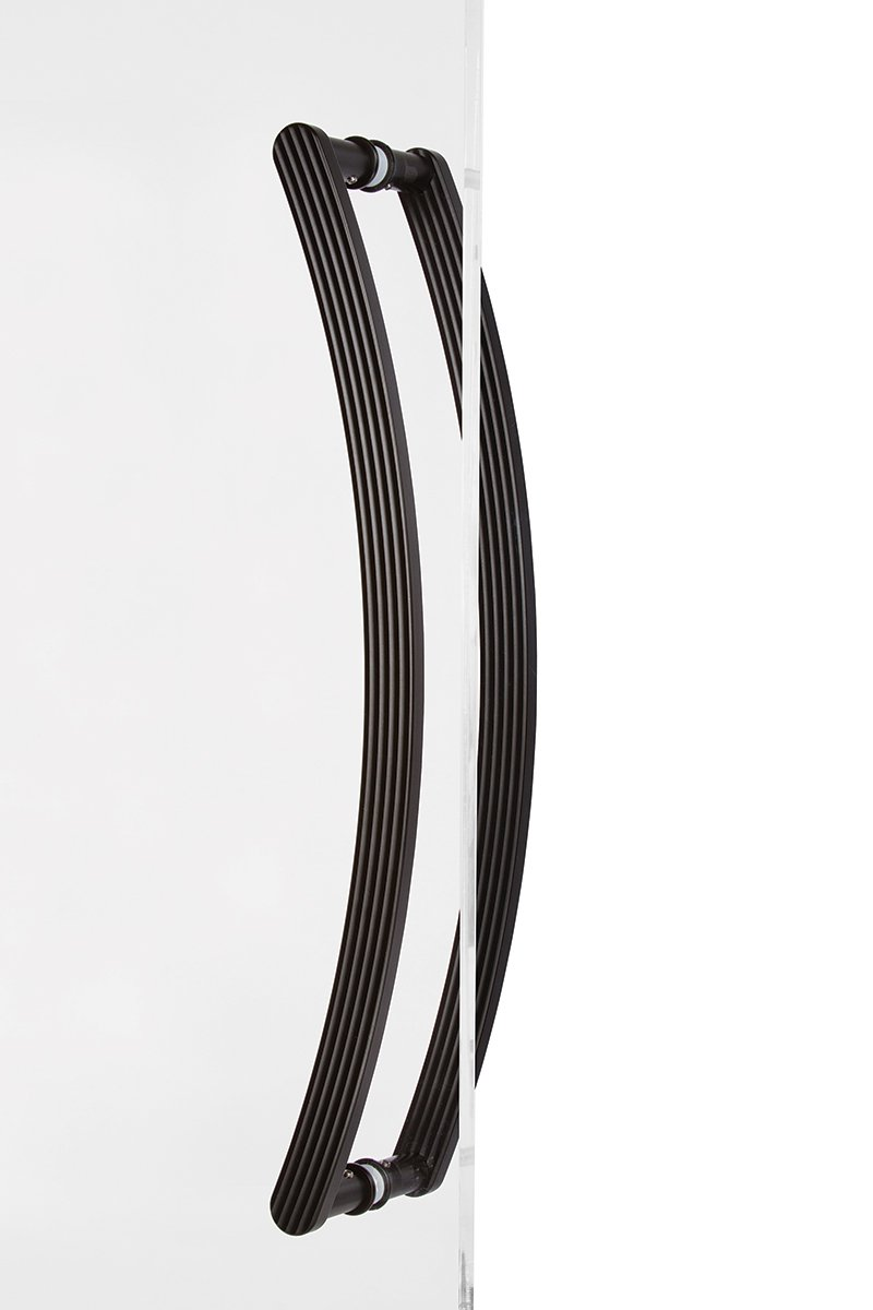 Curved Door Handle - Back to back - Arch