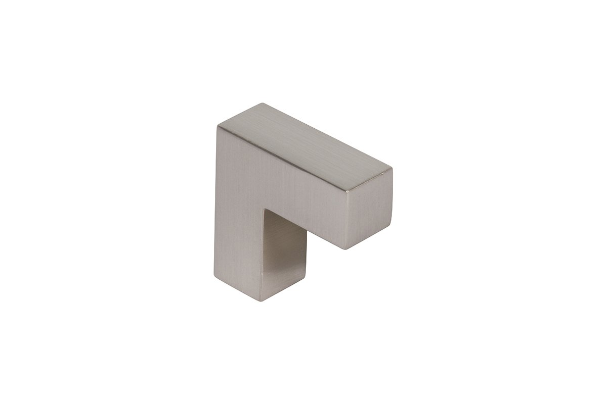 DP105B/1-17S (Satin Nickel) Mockett Drawer Pull Cabinet Hardware Handle Square Bar Pull