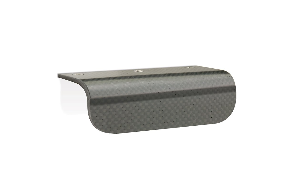 DP173/5 Mockett Drawer Pull Cabinet Hardware Handle Carbon Fibre