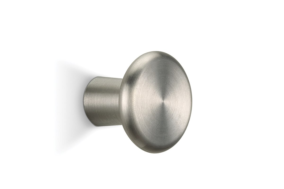 DP196 Mockett Satin Stainless Steel Drawer Knob