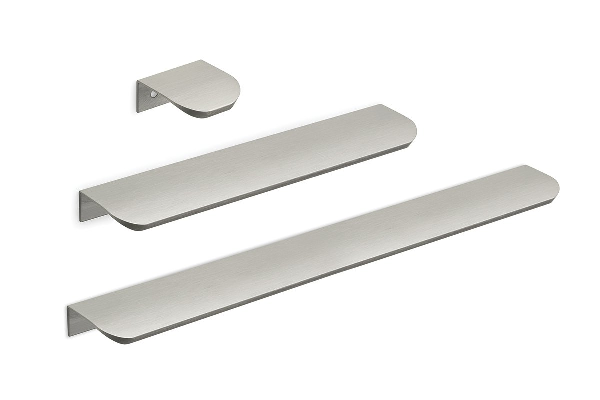 DP212 Series Mockett Tab Drawer Pull Cabinet Hardware Handle Edge Pull Aluminum