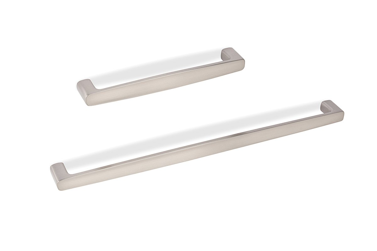 DP239 Series (Satin Nickel) Mockett Drawer Pull Cabinet Hardware Handle