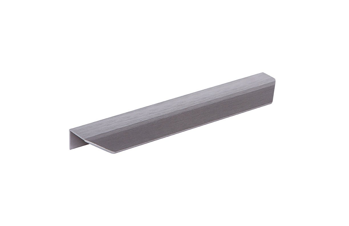 DP254B-22 (Brushed Anthracite) Mockett Tab Drawer Pull Cabinet Hardware Handle Edge Pull