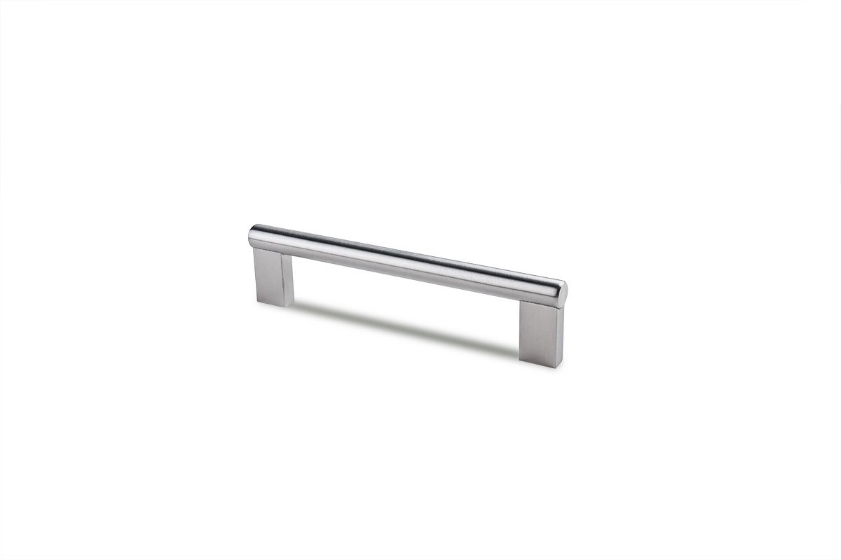 DP281A-SSS (Satin Stainless Steel) Mockett Drawer Pull Cabinet Hardware Handle