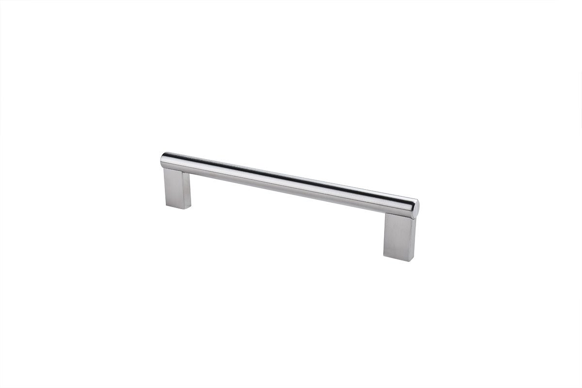 DP281B-SSS (Satin Stainless Steel) Mockett Drawer Pull Cabinet Hardware Handle