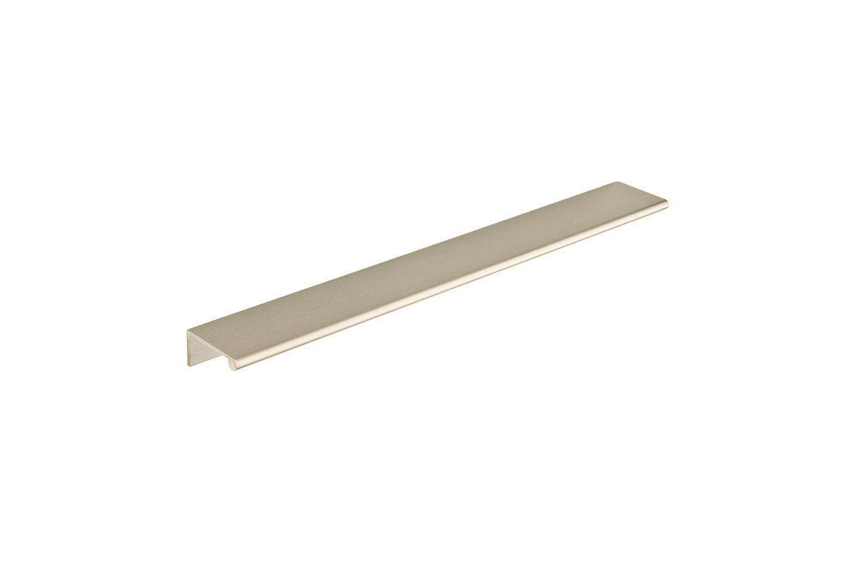 DP3G-17S (Satin Nickel) Mockett Tab Drawer Pull Cabinet Hardware Handle Edge Pull