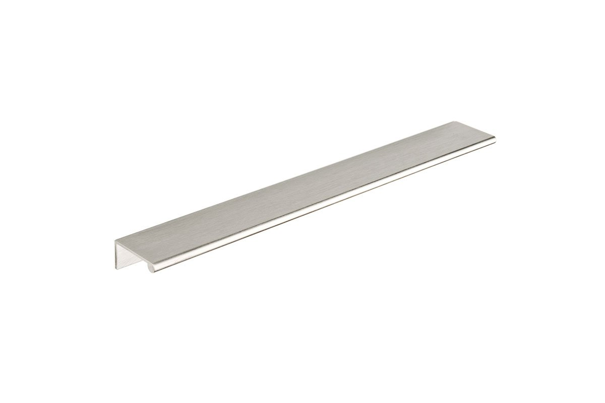 DP3I-26D (Satin Chrome) Mockett Tab Drawer Pull Cabinet Hardware Handle Edge Pull