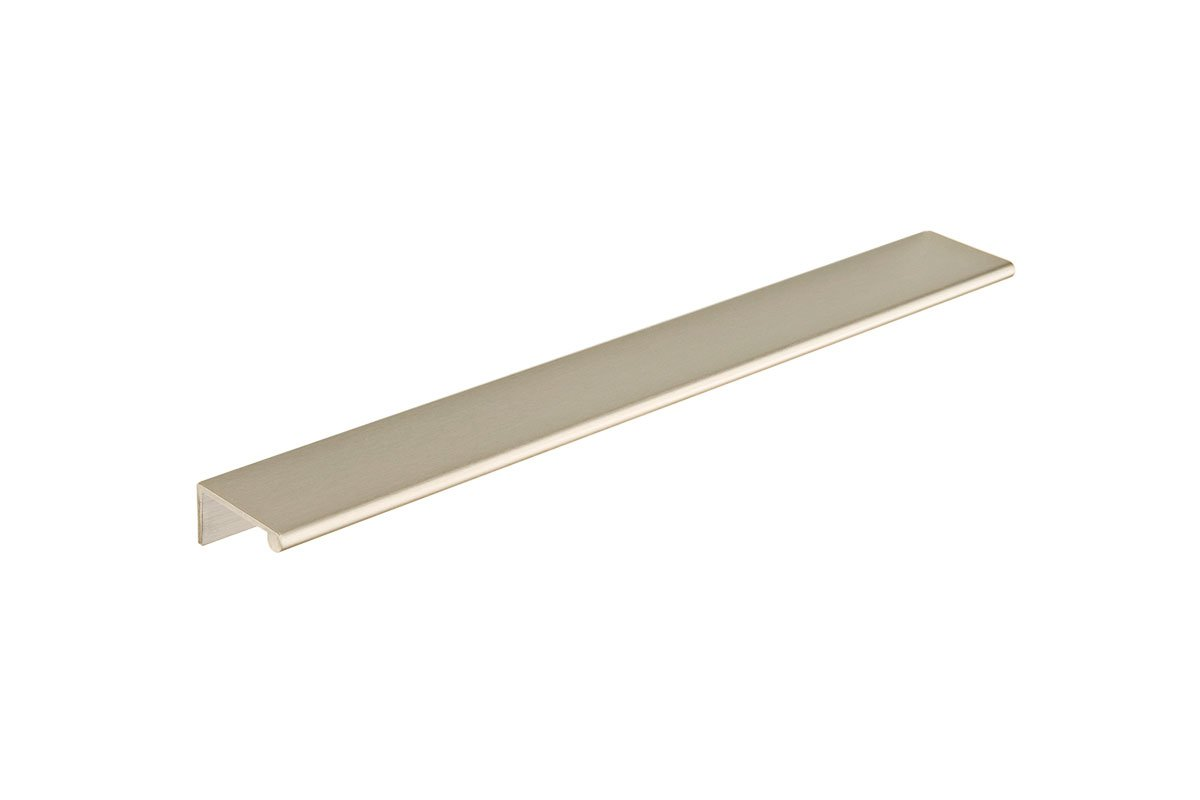 DP3J-17S (Satin Nickel) Mockett Tab Drawer Pull Cabinet Hardware Handle Edge Pull