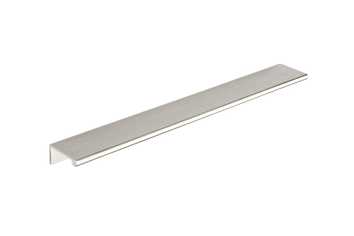 DP3K-26D (Satin Chrome) Mockett Tab Drawer Pull Cabinet Hardware Handle Edge Pull