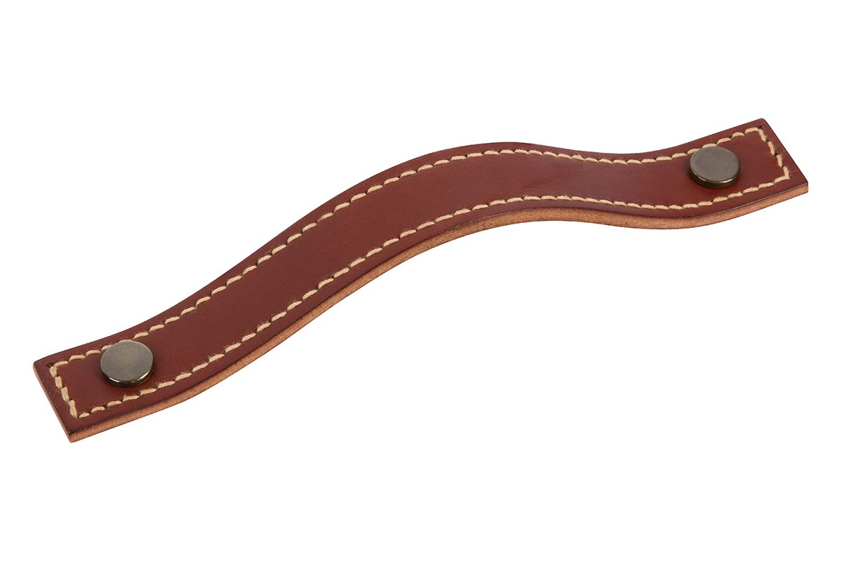 """7-7/8"""" Leather Strap Drawer Handle - 50% OFF"""