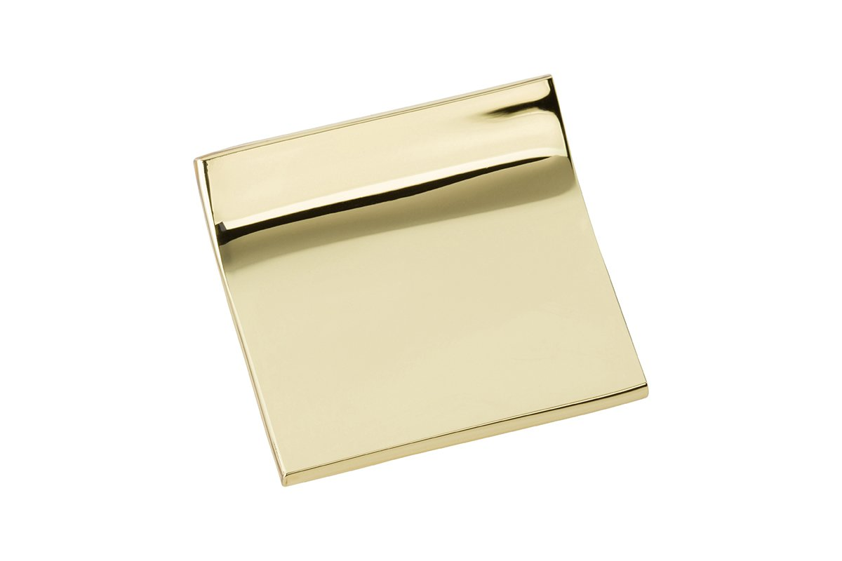 DP6-3 (Polished Brass) Mockett Drawer Knob Pull Handle
