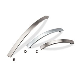 DP78 Mockett Drawer Pull Cabinet Hardware Handle Curved Bar Pull