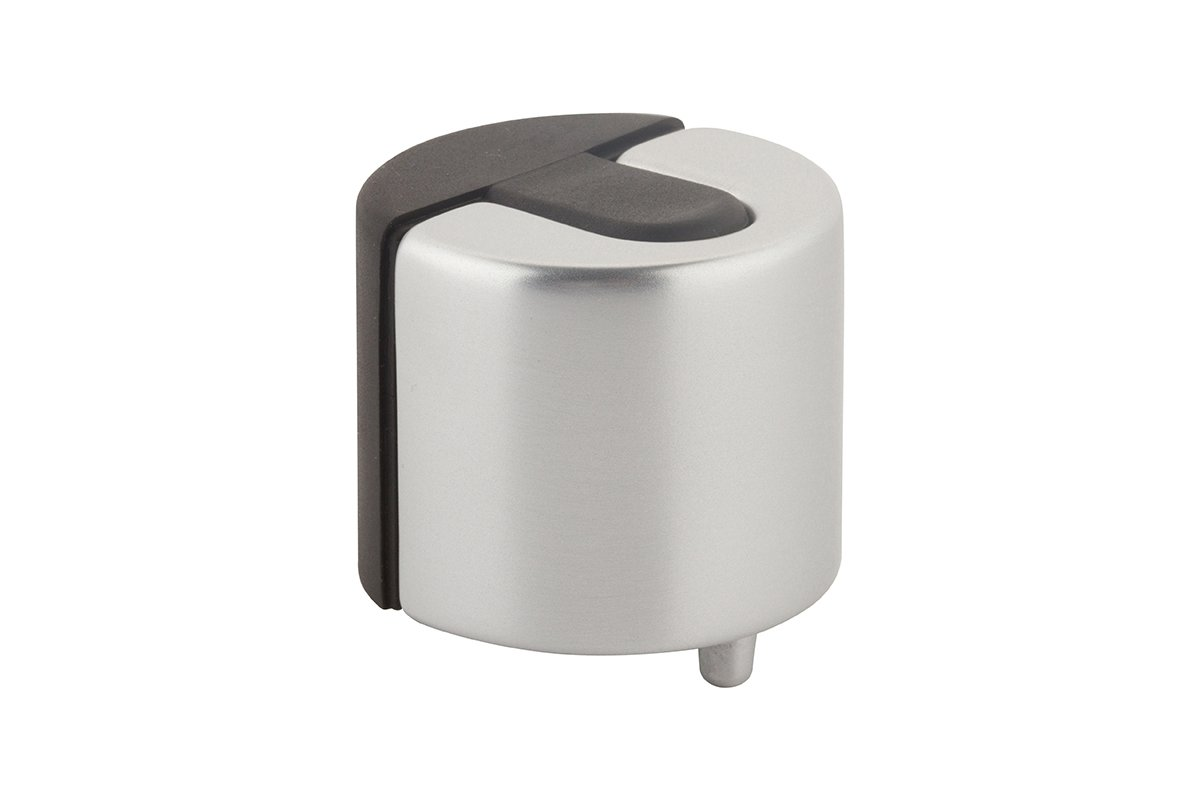 DS19-94 Satin Aluminum Mockett Door Stopper Decorative Door Stop