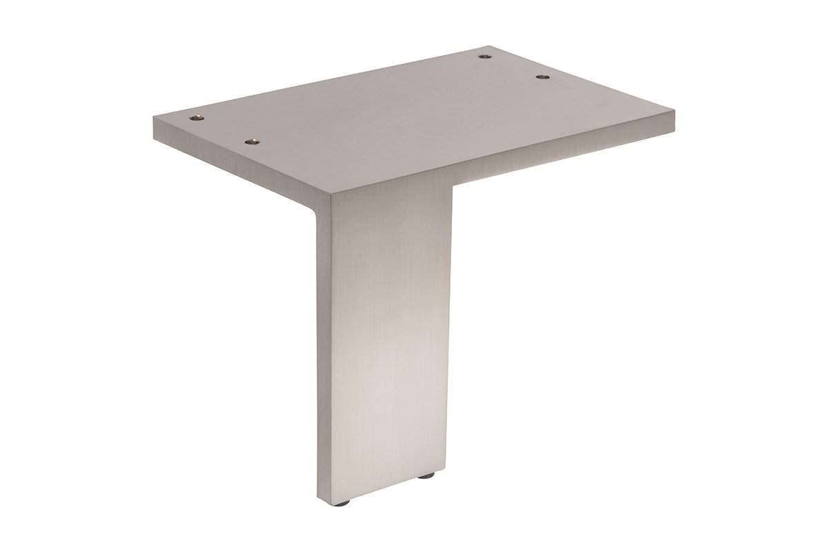 FL16/L-17S Satin Nickel Mockett Furniture Legs Table Legs Furniture Feet Sofa Legs