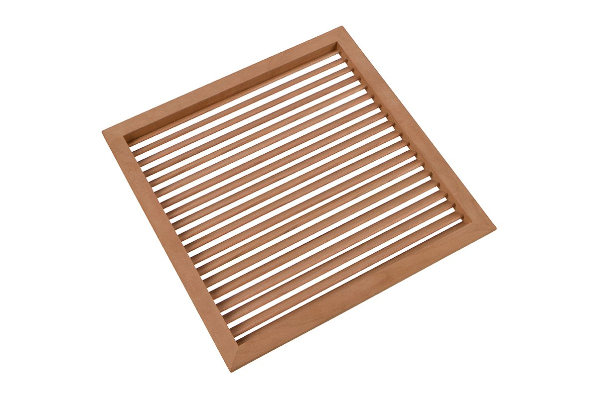"""9-15/16"""" Square Wood Air Vent Grille - 50% OFF!"""