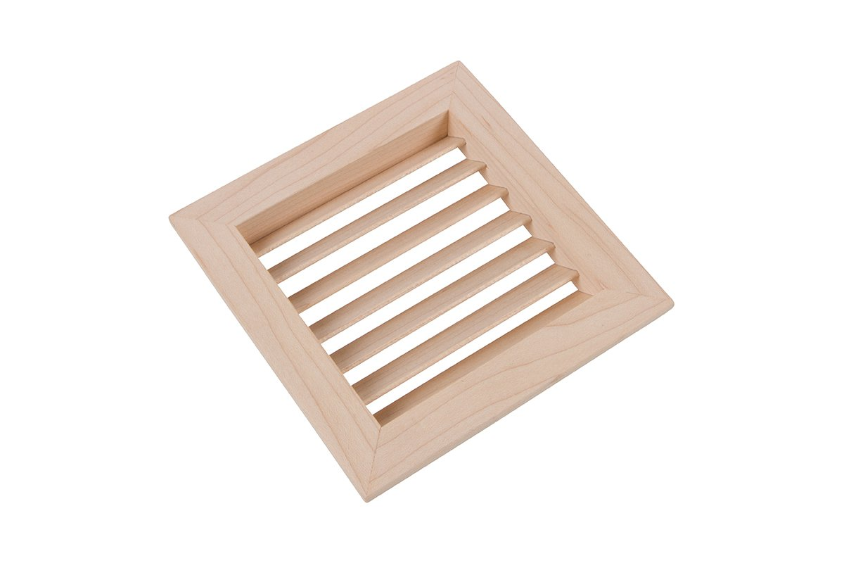 LWAVG/S4-83 (Maple) Mockett Air Vent Grommet Wood Grille