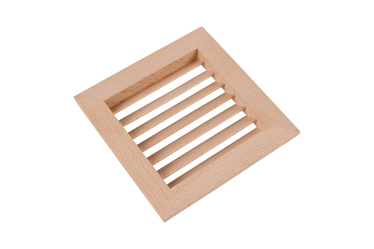 """3-15/16"""" Square Wood Air Vent Grille - 50% OFF!"""