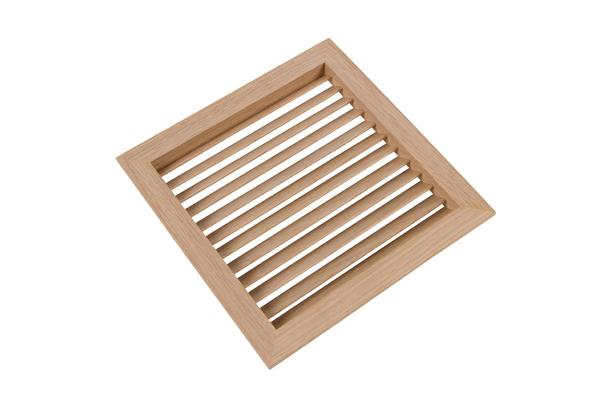 LWAVG/S6-81 (Oak) Mockett Air Vent Grommet Wood Grille