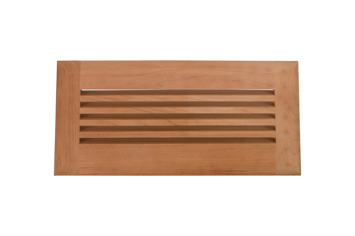"4"" x 10"" Wood Air Vent Grille (Cherry) - LIMITED TO STOCK - 50% OFF!"