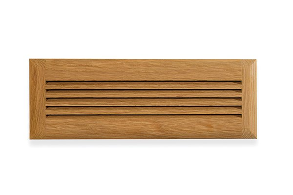 """4"""" x 14"""" Wood Air Vent Grille"""