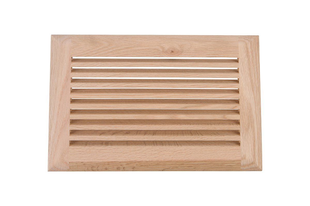 LWAVG2/610-80 (Red Oak) Mockett Air Vent Grommet Wood Grille