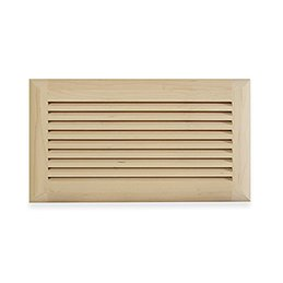 "6"" x 12"" Wood Air Vent Grille (Maple) - LIMITED TO STOCK ON HAND"