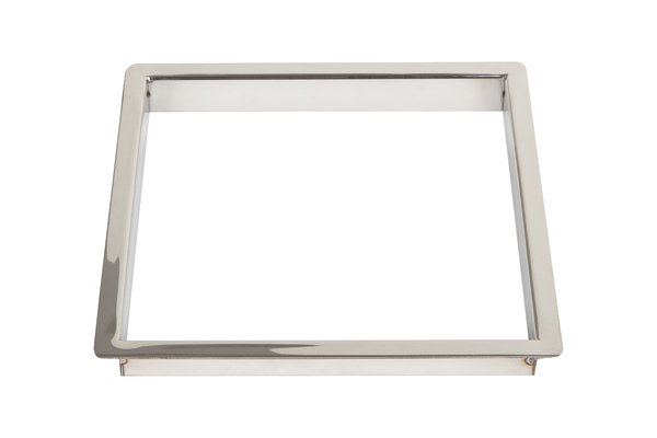 TM2/SQ-PSS (Polished Stainless Steel) Mockett Trash Management Grommet Liner