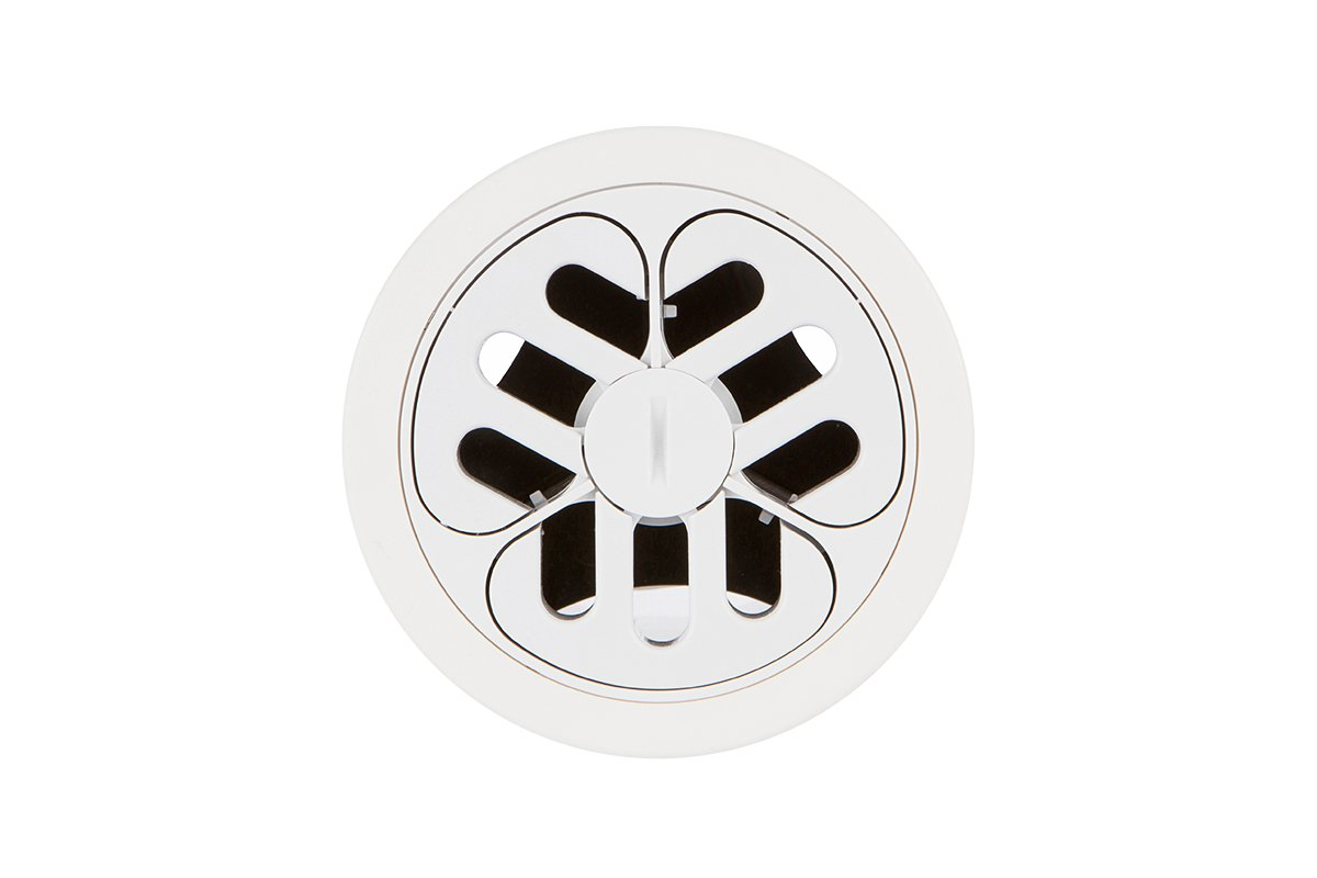 PCS78D-95 (White) mockett desktop power grommet outlet
