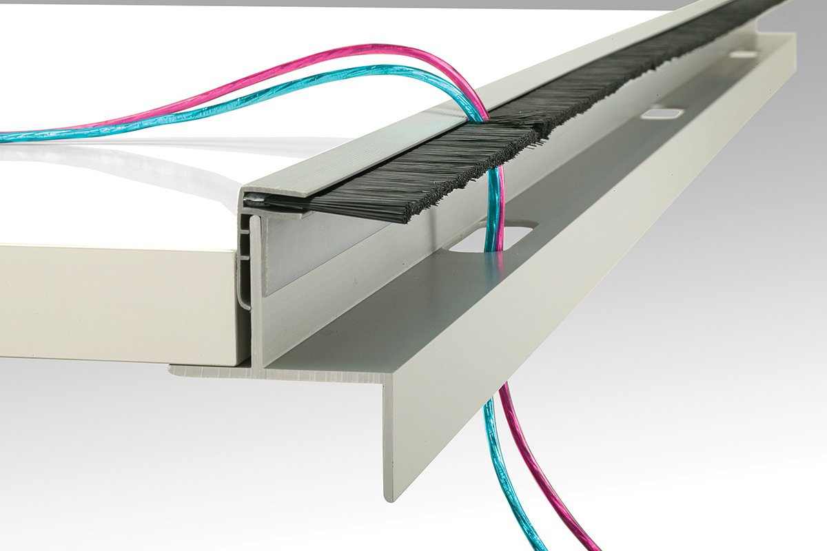 6 ft. Extrusion & Brush for Support Bracket
