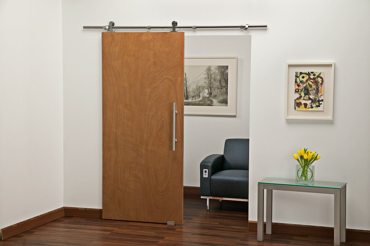 SDH2-SSS Mockett Barn Door Hardware Sliding Door Track