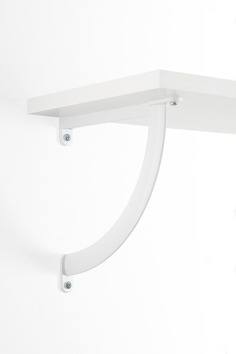 Large Arc Shelf Brackets - 50% OFF