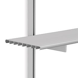 SH16A Brackets w/6 ft. Shelves & 6 ft. M-Style Tracks