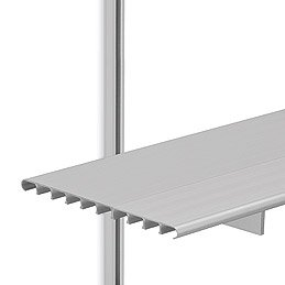 SH16B Brackets w/6 ft. Shelves & 3 ft. C-Style Tracks