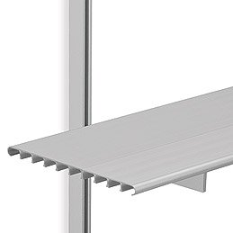 SH16B Brackets w/4 ft. Shelves & 3 ft. M-Style Tracks
