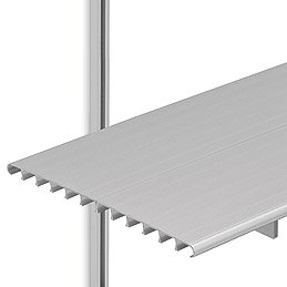 SH16C Brackets w/6 ft. Shelves & 3 ft. C-Style Tracks