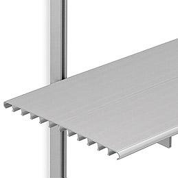 SH16C Brackets w/6 ft. Shelves & 3 ft. M-Style Tracks